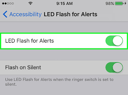 Make Light Flash On Iphone When Phone Rings How To Make Iphone Flash When Receiving A Text 9 Steps