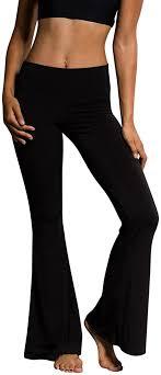 Buy Vickyleb Women Pants Flare <b>Dance</b> Pants Women's <b>High</b> ...