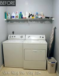 laundry room makeovers a beautiful and budget friendly makeover unfinished basement98 makeover