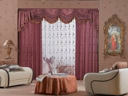 ... Window Curtains Ideas For Living Room Elegant Pinky Design Creations  Modern And Artistic Girly Theme Interior ...