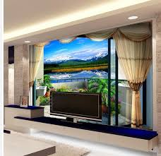 Painting Wall For Living Room Online Get Cheap Painting Wall Paper Aliexpresscom Alibaba Group
