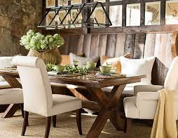 pottery barn dining chairs white