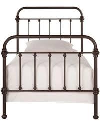 metal twin bed. Exellent Metal HomeSullivan Calabria Metal TwinSize Bed In Bronzed Black To Twin