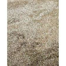 fuzzy gy hand tufted area rug in two tone brown beige 8
