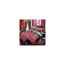 bohemian bedding sets 3 4pcs mandala duvet cover set flat sheet pillowcase twin full queen king size bedding set bed linens color 01 size full