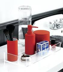 black and red bathroom accessories. Black And Red Bathroom Accessories View In Gallery Orange Bath .