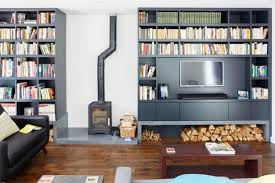Living Room Shelving Ideas