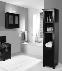 Black White Damask Bathroom Accessories White Lacquered Wooden