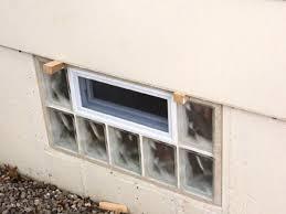 glass block basement windows