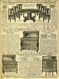 Sears Furniture Kitchen Tables Household Furniture 1914 Sears Household Catalog Dining Room
