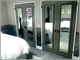 Image French Doors Alargaco Diy Mirrored Closet Doors Alargaco