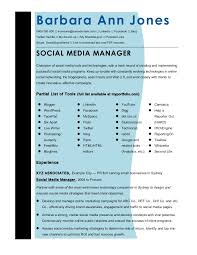 Cmmaao Pmi-Resume-Template-Social-Media-Manager