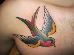 sparrow tattoos for men. Brilliant Tattoos And Sparrow Tattoos For Men A