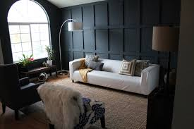 wainscoting in living room