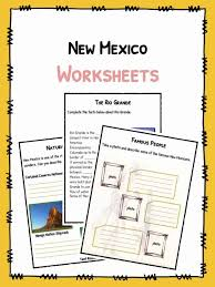 New Mexico Facts, Worksheets & Historical Information For Kids