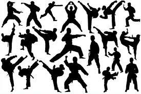 免费跆拳道人物剪影photoshop笔刷素材免费素材模板下载要图网