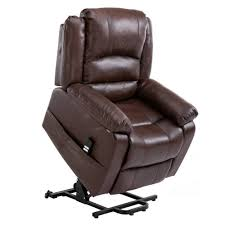 homegear air leather dual motor power lift electric recliner chair with remote brown just 499 99 deals for the home at 247 com
