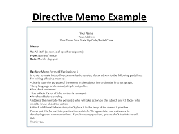 Examples Of Memos To Staff Memo Writing Ppt Video Online Download