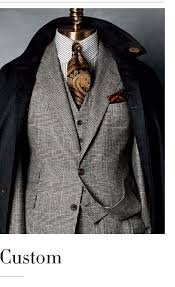 English Tailoring Custom Taylor Made Mens Suit Paul
