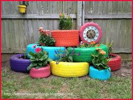 40+ Creative DIY Garden Containers and Planters from Recycled Materials -->  Recycle Tire