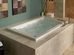 ... Deep Bathtubs Japanese Soaking Tubs Drop In Rectangular Whirpool  Jacuzzi With Led Lights Built ...