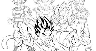 Dragon Ball Super Coloring Pages Dragon Ball Z Coloring Pages