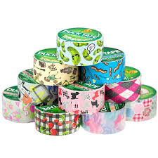 Duct Tape Patterns Interesting 48 Rolls Duck Duct Tape Patterns Colored Designs 4848 X 48' Paris