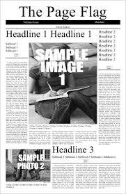 Free Front Page Newspaper Template 11x17 Newspaper Template Under Fontanacountryinn Com