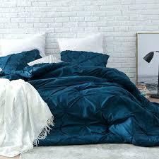 navy blue and teal comforter nightfall navy blue pin tuck comforter set dark teal blue comforter