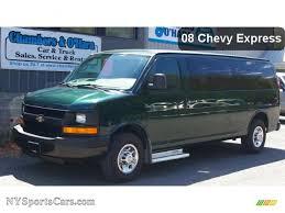 2008 Chevrolet Express EXT LS 3500 Passenger Van in Dark Green ...