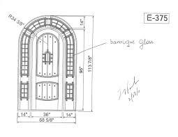 open double door drawing. Open Double Door Drawing For Modern N