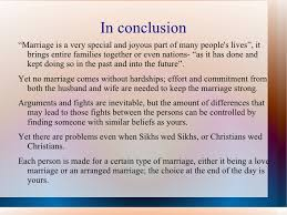 extended essay viva voce love marriages