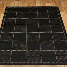 stunning black kitchen rug