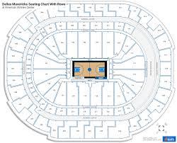 dallas mavericks seating charts at