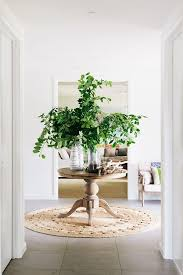 amazing round entry table style branches