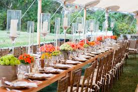 Moody Fall Wedding Inspiration  100 Layer CakeBackyard Fall Wedding