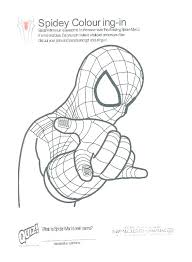 Coloring Pages Spiderman Coloring Pages Free Online Webs Page