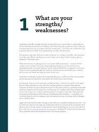 Good Answers For Strengths And Weaknesses Interview Kit For Job Seekers