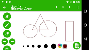 To draw these intersecting lines you need to first extend the view class that provides the ondraw() method where you will write code to draw lines. Canvas Draw For Android Apk Download