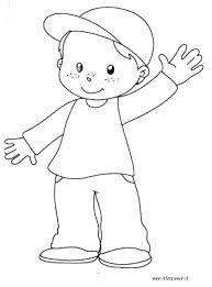 Disegni Da Colorare Categoria Schema Corporeo Immagine Bambino