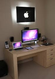 furniture office workspace cool macbook air. an apple enthusiastu0027s dream home setup furniture office workspace cool macbook air