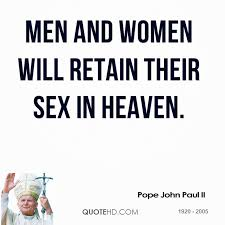 Pope John Paul Ii Quotes Amazing Pope John Paul II Sex Quotes QuoteHD