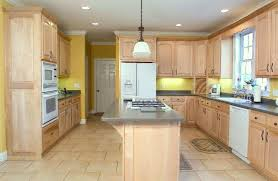 Natural-Wood-Kitchen-Cabinets-Popular-With-Photo-Of-