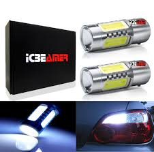 Details About X2 1157 Led 11w Smds White Replace Car Sylvania Brake Tail Light Bulbs O191