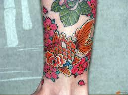 значение татуировки золотая рыбка фотографии тату
