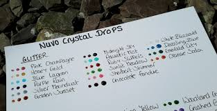 Janeys Cards Nuvo Crystal Drops By Tonic Review