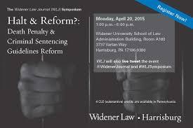 Essential Symposium On Criminal Sentencing Reform The