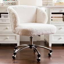 sherpa wingback desk chair it s fluffy