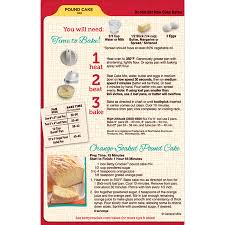 Betty Crocker Pound Cake Mix 16 Oz Box Walmartcom