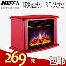 vf30kbluelp fu er jia fej 15h 3d simulation flame electric fireplace heater home heating mini heater